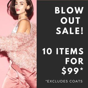 MASSIVE BLOW OUT SALE! 10 ITEMS FOR $99 +SHIPPING
